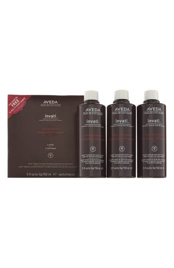 Main Image - Aveda invati™ Scalp Revitalizer Refill Trio