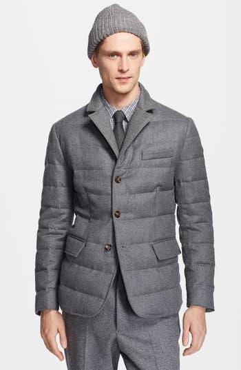 Moncler Rodin Wool Down Blazer Jacket Nordstrom