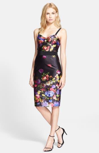 Milly Bustier Strap Sheath Dress Nordstrom