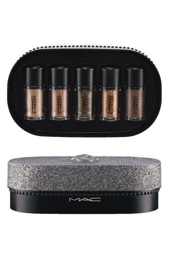 M·A·C 'Objects of Affection - Gold & Beige' Pigments & Glitter Set,                         Main,                         color, Gold / Beige