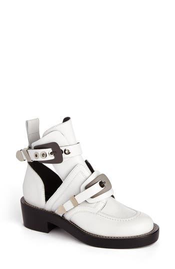 Balenciaga Cutout Buckle Boot (Women)