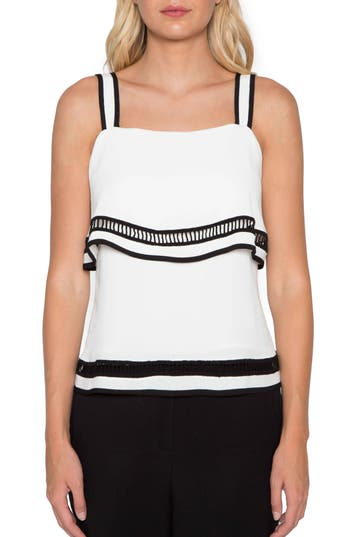 Willow & Clay Ladder Stitch Tank