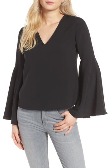 cooper & ella Marcela Bell Sleeve Top