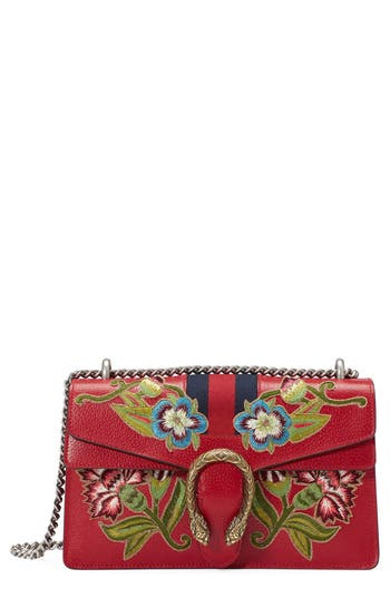 Gucci Dionysus Embroidered Lea..