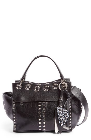 Proenza Schouler Curl Studded Leather Shoulder Bag