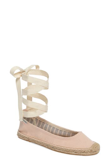Soludos Ankle Tie Espadrille F..
