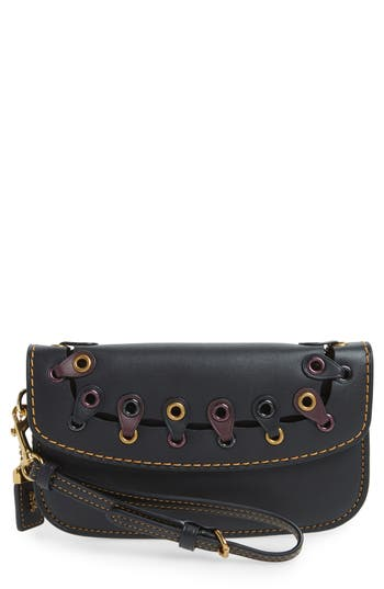 COACH 1941 Linked Leather Wristlet