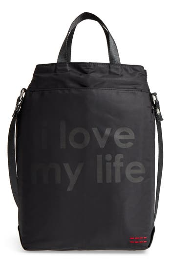 Peace Love World Insulated Wine Tote