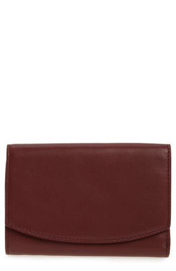 Skagen Compact Flap Leather Wallet