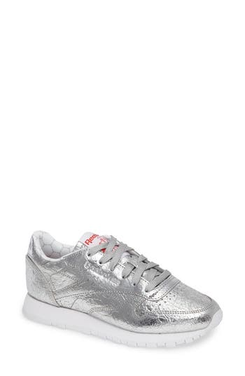 Reebok Classic Leather HD Foil Sneaker (Women)