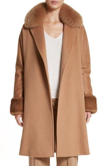 Max Mara Camel Hair Coat w..