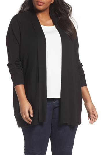 Sejour Relaxed Ribbed Cardigan..