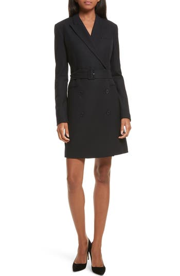 Theory Wool Blend Blazer Dress