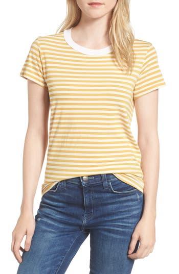 Stateside Mustard Stripe Tee