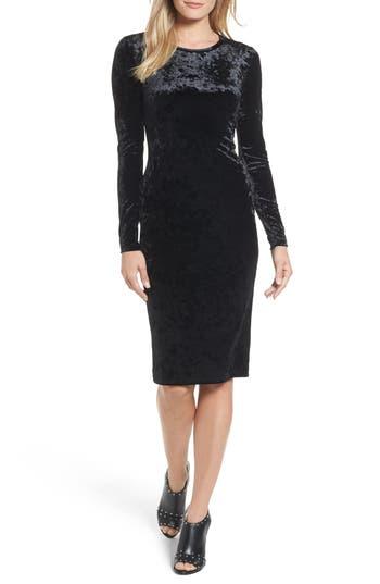 MICHAEL Michael Kors Panne Velvet Crew Dress