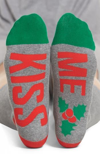 SOCKART Kiss Me Crew Socks