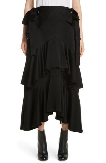 ELLERY Saloon Ruffle Skirt