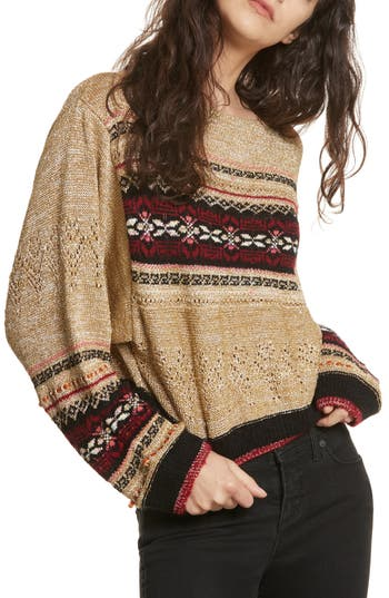 Free People Ski Lake Sweat..