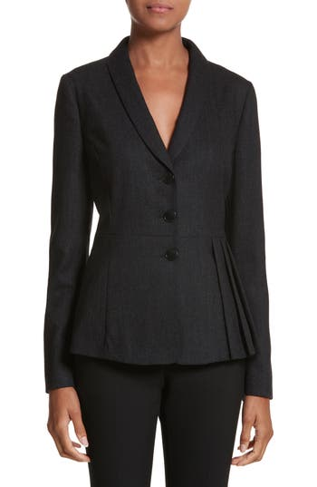 Armani Jeans Side Pleat Blazer