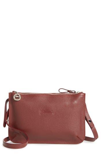 Longchamp Le Foulonne Leather Crossbody Bag
