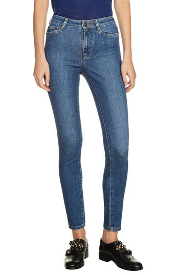 maje High Waist Skinny Jeans