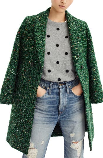 J.Crew Daphne Tweed Topcoat (R..
