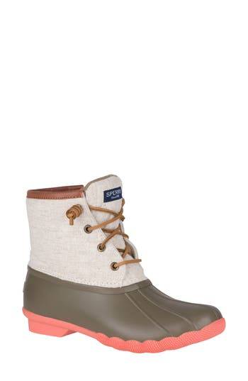 Sperry Saltwater Waterproof Rain Boot (Women)