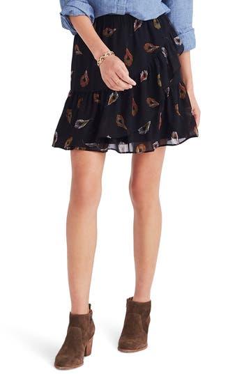 Madewell Ruffle Edge Miniskirt