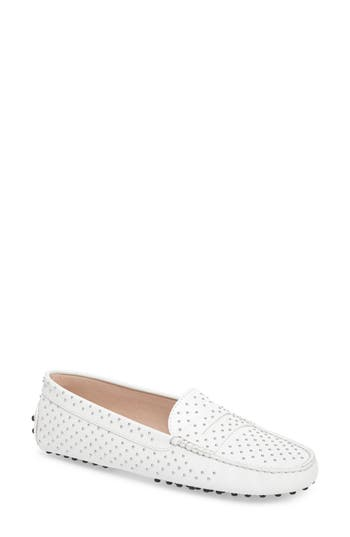 Tod's Gommini Stud Penny Loafer (Women)