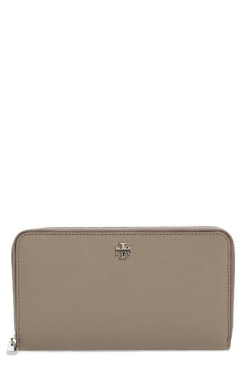 Tory Burch Robinson Leather Continental Wallet