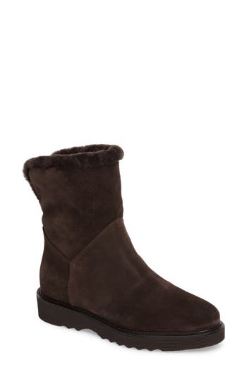 Aquatalia Kimberly Weatherproof Genuine Shearling Bootie (Women)