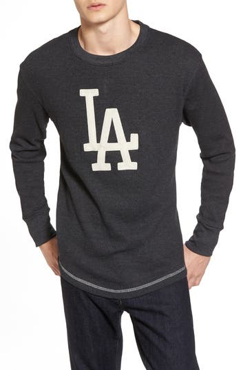 Los Angeles Dodgers Embroidered Long Sleeve Thermal Shirt by American Needle