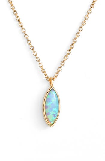 Rumi Opalite Adjustable Pendant Necklace by Gorjana