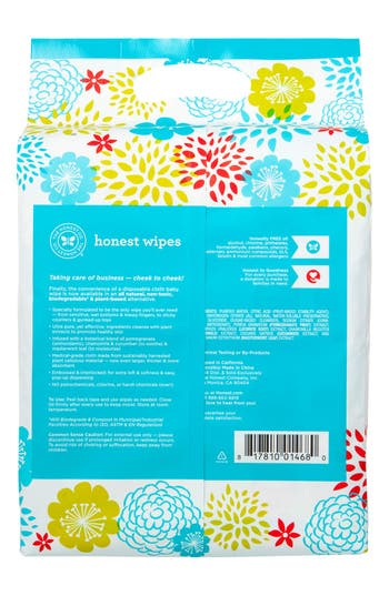 Alternate Image 5  - The Honest Company Cloth Baby Wipes (4-Pack)