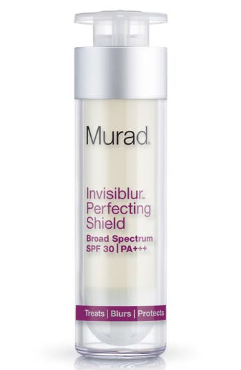 'Invisiblur<sup>™</sup>' Perfecting Shield Broad Spectrum SPF 30 PA+++,                             Alternate thumbnail 3, color,                             No Color
