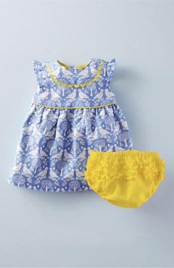 Mini Boden Pretty Tea Cap Sleeve Dress Baby Girls