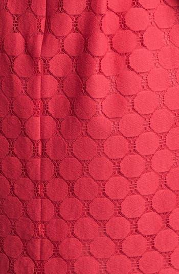 Alternate Image 3  - Adrianna Papell Illusion Yoke Lace Sheath Dress