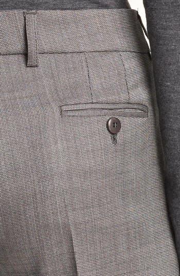 Alternate Image 3  - Armani Collezioni Narrow Micro Herringbone Pants