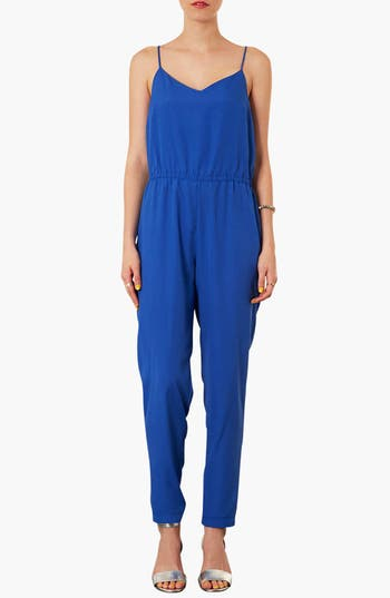 Main Image - Topshop V-Neck Jumpsuit