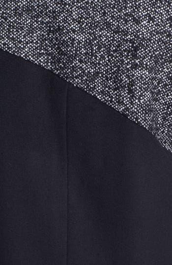 Alternate Image 4  - Ellen Tracy Contrast Yoke Wool Blend Coat