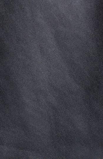 Alternate Image 3  - MICHAEL Michael Kors Faux Leather & Ponte Knit Blazer (Plus Size)