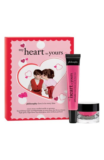 Alternate Image 1 Selected - philosophy 'my heart to yours' lip duo (limited edition)