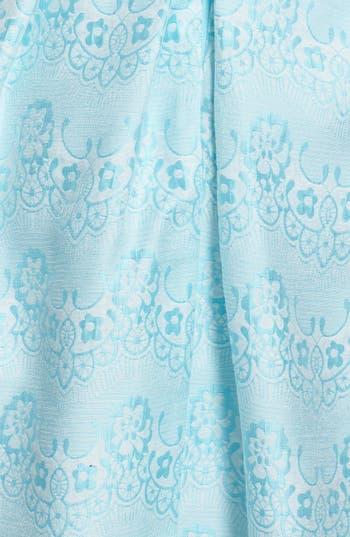 Alternate Image 3  - a. drea Beaded Waist Jacquard Fit & Flare Dress (Juniors)