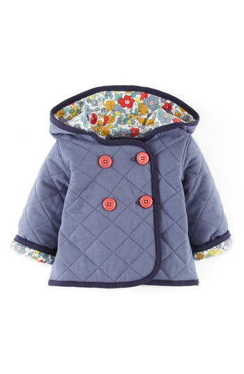 mini boden quilted jersey jacket baby girls nordstrom. Black Bedroom Furniture Sets. Home Design Ideas