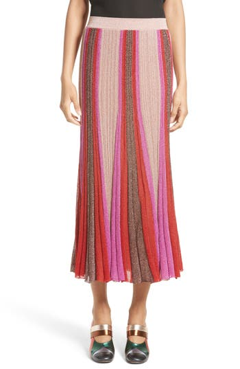 Missoni Metallic Knit Colo..