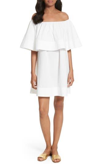 Apiece Apart Piper Petal Off the Shoulder Dress
