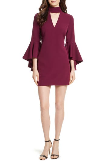 Milly Andrea Italian Cady A-Line Dress