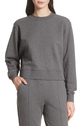 T by Alexander Wang French Terry Tie Back Sweatshirt