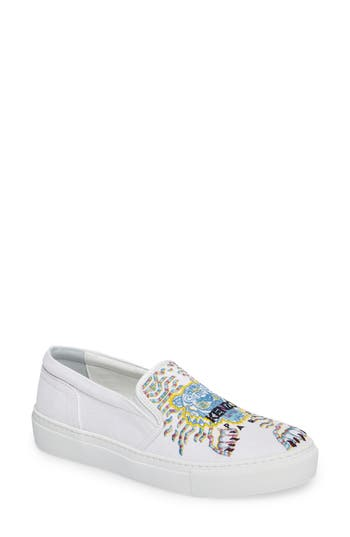 KENZO K Skate Embroidered Slip-On Sneaker (Women)