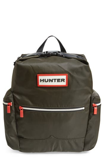 Hunter Original Top Clip Nylon Backpack